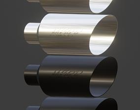 3D asset Simple MBRP Exhaust TIp