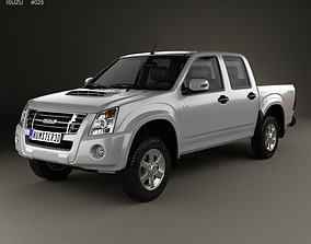 Isuzu D-Max Double Cab 2006 3D model