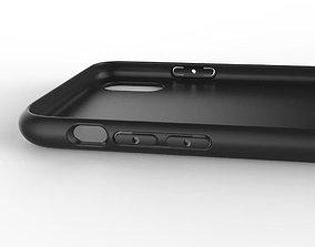 Original customizable design iphone x black case 3D