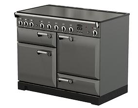 Rangemaster Leckford Deluxe 110cm Oven 3D asset