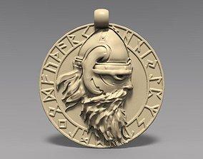 Viking pendant 4 3D printable model