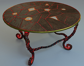The Table 3D model