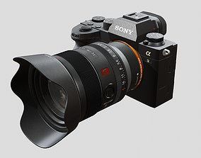 Sony A9 II with Lens 3D