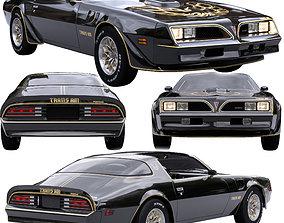 Pontiac Firebird Trans Am 1977 3D model interior