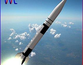 3D asset Condor I-AIII Alacran missile