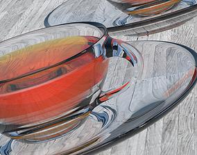 3D model Glass Tea Cup