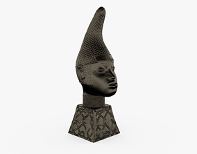 3D printable model Queen Iyoba Head Sculpture