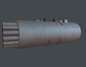 B8V20-A Rocket Pods 3D asset