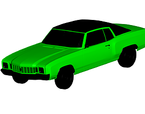 3D Chevrolet Monte Carlo 1972