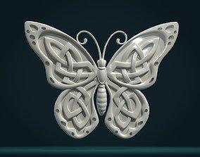 3D printable model Celtic Butterfly