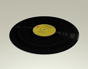 Vinyl Record Album 3D model
