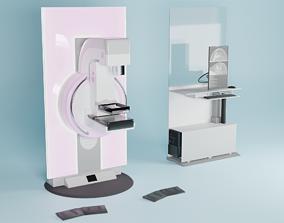 Mammography Mammomat Inspiration Medical Imaging 3D asset