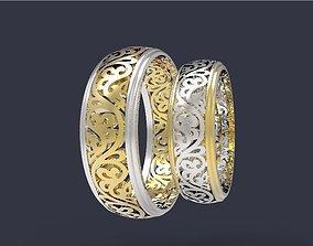 3D print model Wedding Bands 5
