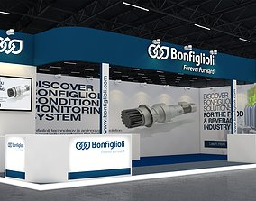 3D model Exhibition Booth display
