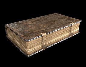 3D asset Fotolia Old Book