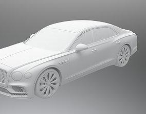 3D model Bentley Flying Spur 2020 royal