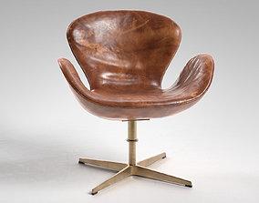 3D Swan Chair rare