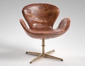 Swan Chair 3D soft
