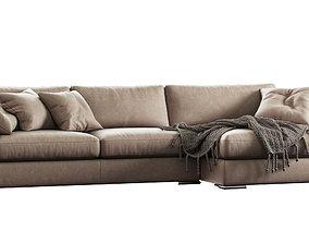 sofa Max by CAVA 3D model