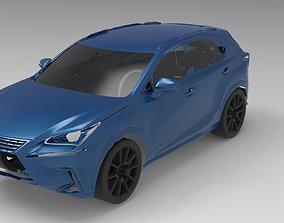 2019 LEXUS NX300 3D Scan Data 3D model 3D print model
