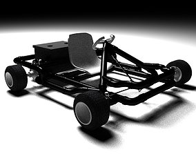 3D Go-Kart Model Made By Pipe and Electric motor