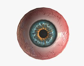 3D asset Realistic Eyeball Generator