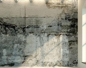 3D asset Concrete wall Old concrete 11