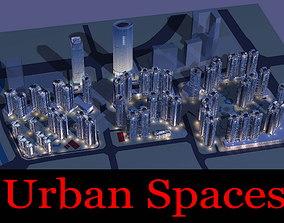 Exquisite Urban Space 3D model