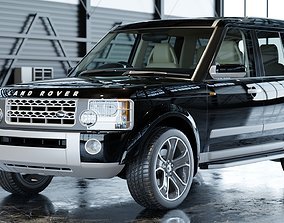 3D model 2006 Custom Land Rover Discovery 3