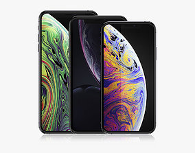 iPhone XR and XS and XS Max Collection 3D