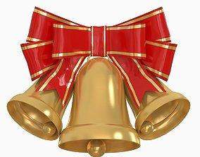 Christmas Holiday Bells 2 3D model