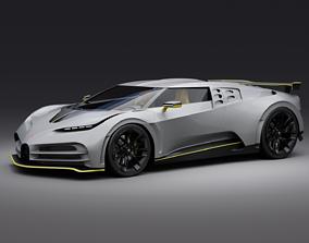 3D Bugatti Centodieci 2020 future