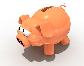 farm Piggy bank 3D