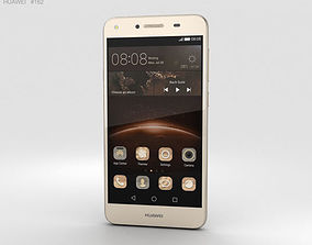 Huawei Y5II Sand Gold 3D model