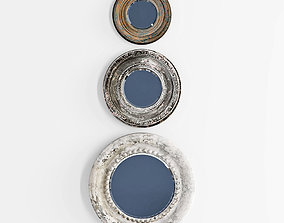 3D UTTERMOST Adelfia Rounds S3 mirrors