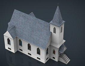 3D asset AMERICAN CHURCH
