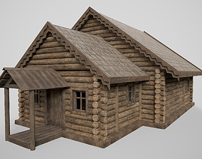 Old hut 3D model realtime PBR