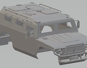 GAZ Tigr Printable Body Car