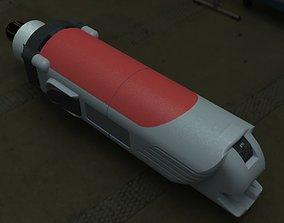 3D model KRESS 1050 FME Milling Spindle