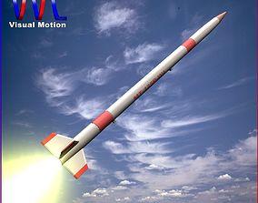 3D MT-135 Rocket