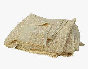 3D towels decor