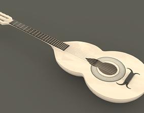 3D model Acoustic guitar music