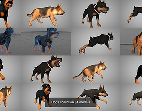 Dogs collection 3D