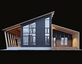 3D model Modern cottage