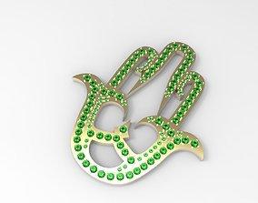 3D printable model Fatima-hamsa big necklase