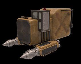 Space miner 3D model