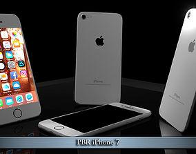 PBR iPhone 7 3D model