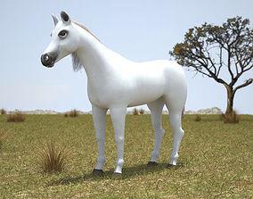 3D model Arabian Horse
