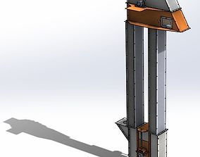 Bucket elevator 50t 3D