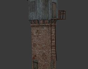Old Village Watertower 3D model
